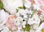 Brautstrauß Ringe